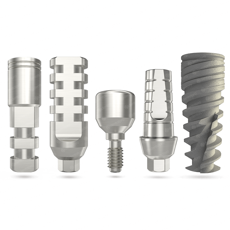NEO® Implant + Abutment + Healing Cap + Transfer + Analog - Internal Hex