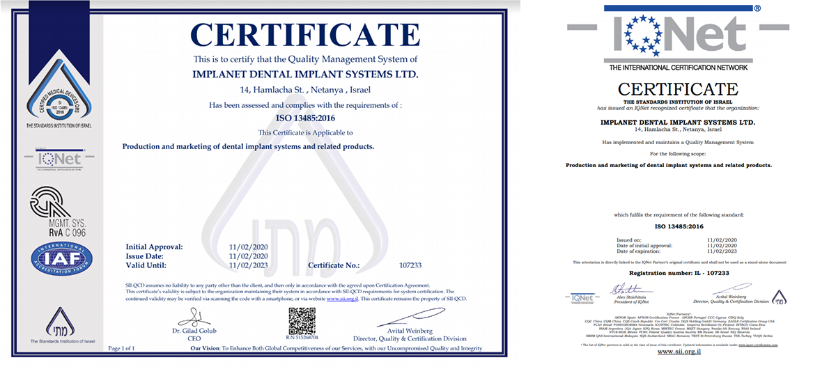 certificatesiso